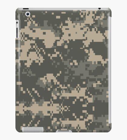 Army Pixel Camo Pattern iPad Case/Skin