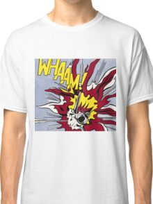 Whaam! - Roy Lichtenstein Print Classic T-Shirt