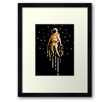 Take me to the moon Framed Print