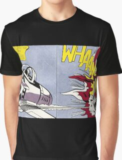 Whaam! - Roy Lichtenstein Print Graphic T-Shirt