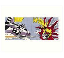 Whaam! - Roy Lichtenstein Print Art Print
