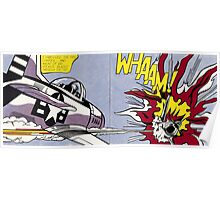 Whaam! - Roy Lichtenstein Print Poster