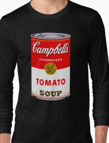 Campbell's Tomato Soup Can - Andy Warhol Long Sleeve T-Shirt