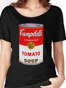 Campbell's Tomato Soup Can - Andy Warhol Women's Relaxed Fit T-Shirt