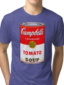 Campbell's Tomato Soup Can - Andy Warhol Tri-blend T-Shirt