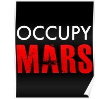 Occupy Mars - Distressed Poster