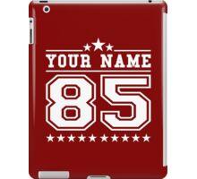 Personalised American Football Baseball Jersey Top Varsity Men's Athletic iPad Case/Skin