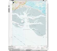 USGS TOPO Map Alaska AK Cordova B-5 355159 2000 63360 iPad Case/Skin
