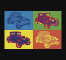 Ford Model A Roadster Pop Art Kids Clothes