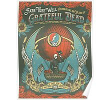 Grateful Dead - Fare Thee Well - 50 years (Number 3) Poster