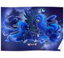 Equestria Elements - The Moon Poster