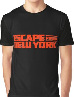 Escape from New York (1981) Movie Graphic T-Shirt
