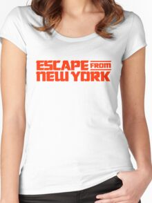 Escape from New York (1981) Movie Women's Fitted Scoop T-Shirt