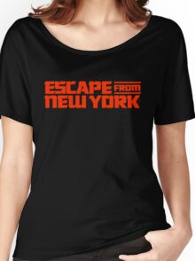 Escape from New York (1981) Movie Women's Relaxed Fit T-Shirt