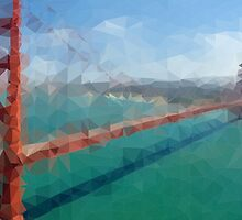 Triangular Golden Gate by JOlorful