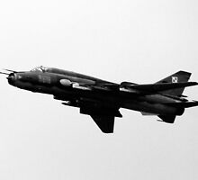Sukhoi Su-22 'Fitter' by Barrie Woodward