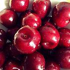 Bowl of Cherries by BevsDigitalArt