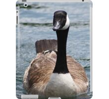 visit from a goose iPad Case/Skin