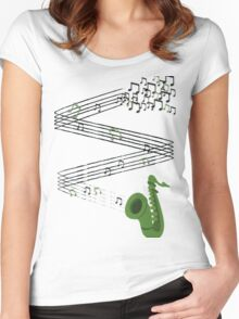 And All that Jazz Women's Fitted Scoop T-Shirt
