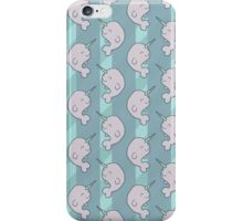 Cute Narwhal Whale Pattern iPhone Case/Skin