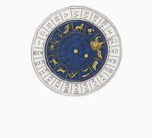 Venice zodiac clock, sketch Women's Fitted Scoop T-Shirt