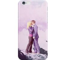 Rose Tyler and the 10th Doctor iPhone Case/Skin