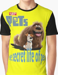 the secret life of pets Graphic T-Shirt