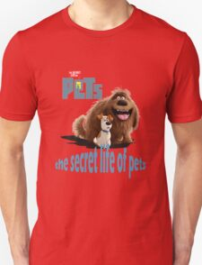 the secret life of pets Unisex T-Shirt