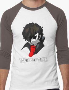 Persona 5 Take Your Time Men's Baseball ¾ T-Shirt