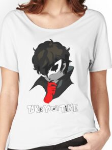 Persona 5 Take Your Time Women's Relaxed Fit T-Shirt
