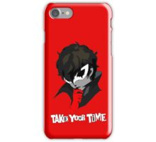 Persona 5 Take Your Time iPhone Case/Skin