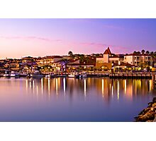 Marina Sunset, Mindarie Marina Photographic Print