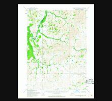 USGS TOPO Map Alaska AK Taylor Mountains B-2 359852 1954 63360 Unisex T-Shirt