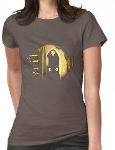 Black Nosferatu 2 Womens Fitted T-Shirt