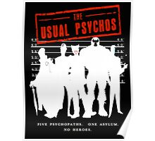The Usual Psychos Poster