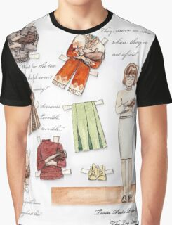 Log Lady paper-doll Graphic T-Shirt