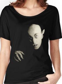 Black Nosferatu Women's Relaxed Fit T-Shirt