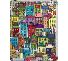 Abstract cityscape background iPad Case/Skin