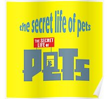 the secret life of pets grapic Poster