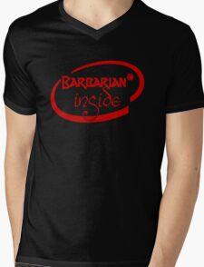 Barbarian Inside Mens V-Neck T-Shirt