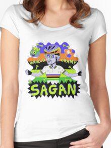 SAGAN , Tourminator t shirt Women's Fitted Scoop T-Shirt