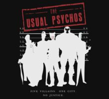 The Usual Psychos (Variant) by JuggerNERD