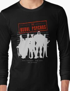 The Usual Psychos (Variant) Long Sleeve T-Shirt