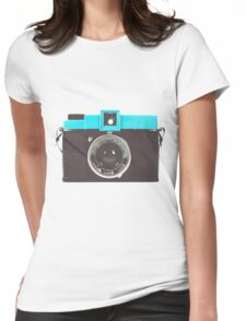 Diana #lomography Womens Fitted T-Shirt