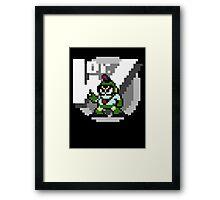 Bubbleman Framed Print