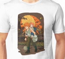 Hinata Siblings in Grave of the Fireflies AU.  Unisex T-Shirt