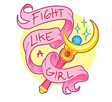 Fight Like a girl #2 Photographic Print