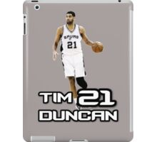 Tim Duncan NBA iPad Case/Skin