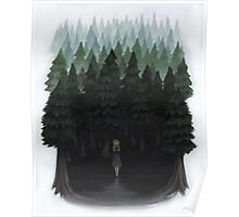 Laura Palmer in the Woods Poster