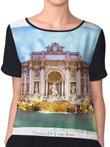 Fontana Di Trevi Chiffon Top